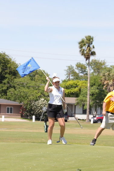 Sealy sophomore Maddie Goad is the lone golf player from Sealy that advanced to the state tournament after winning a two-hole playoff in the regional tournament.