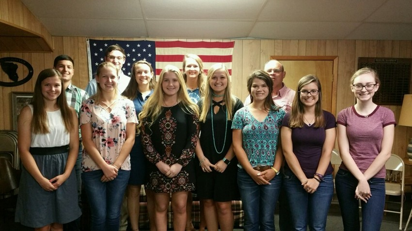 Several Austin County students were awarded scholarships by the Austin County Fair Association.