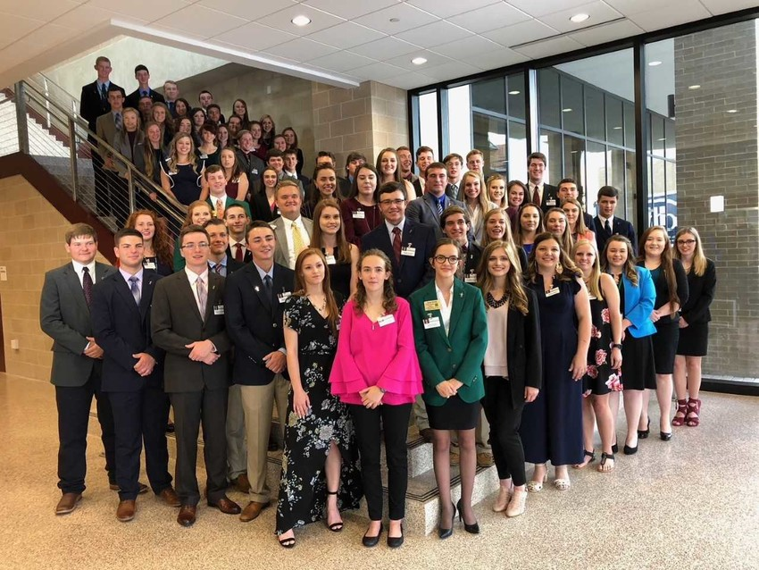 Scholarship recipients are selected by Texas 4-H officials based on the students' involvement with the program, academic achievements and financial need.
