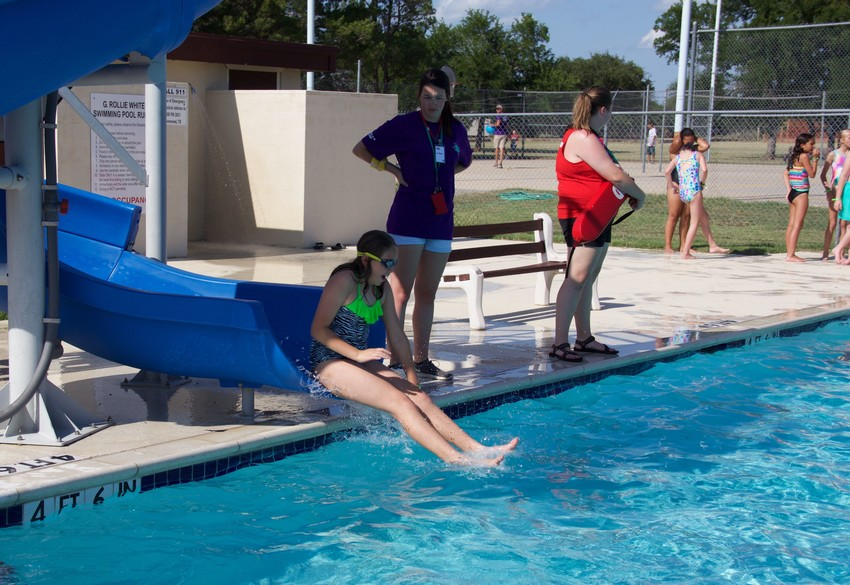 With summer temperatures rising, young people are flocking to home and community pools. Many of them still need to learn about water safety.