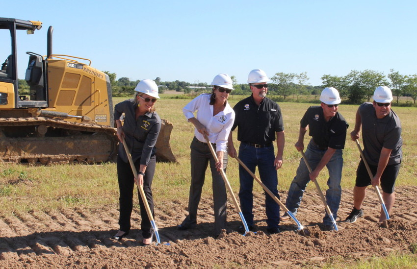The new Sealy Elementary is on F.M. 2187 and will be ready to open on the first day of school, officials say.