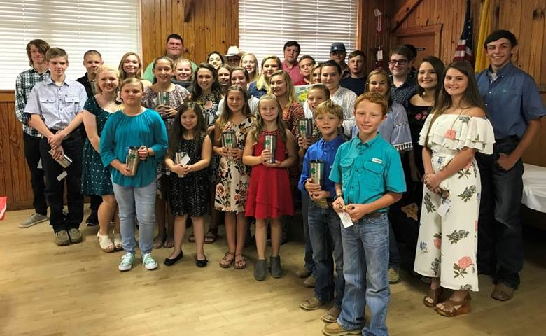 Austin County Award Winners for their participation at County, District, State, and National levels.