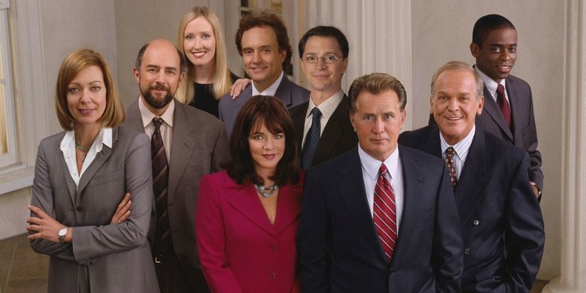 The West Wing, back in the 1990s, was one of the best shows on television.
