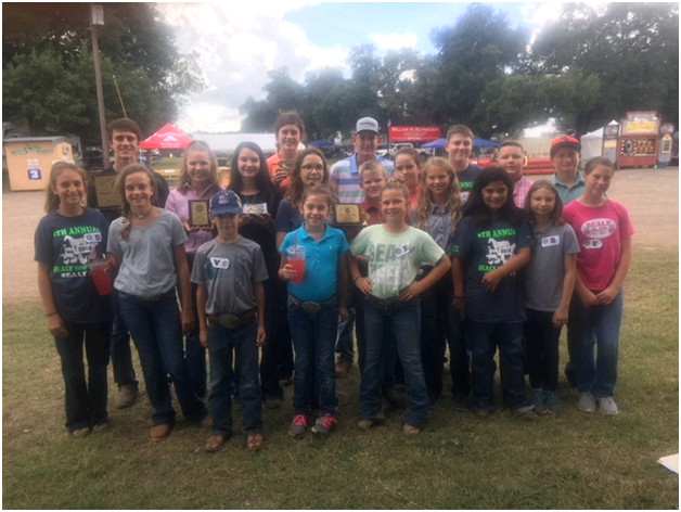 Sealy FFA garnered their first win of the year at the Colorado County Fair earlier this month.
