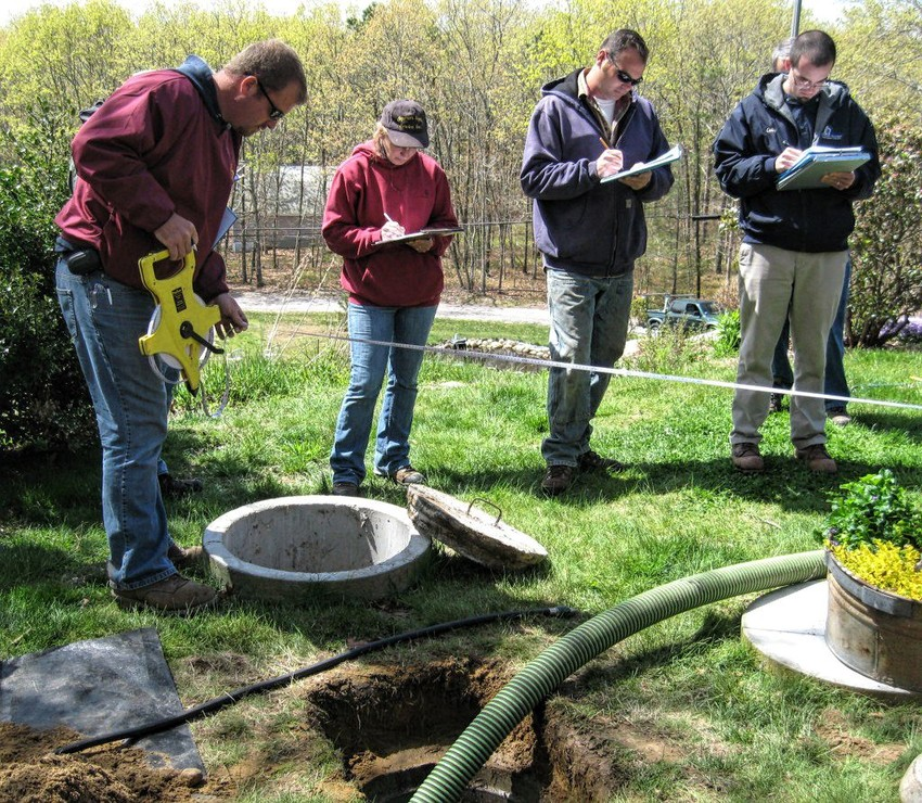 A free class on how to properly maintain a septic system will be given Dec. 3 in Bellville.