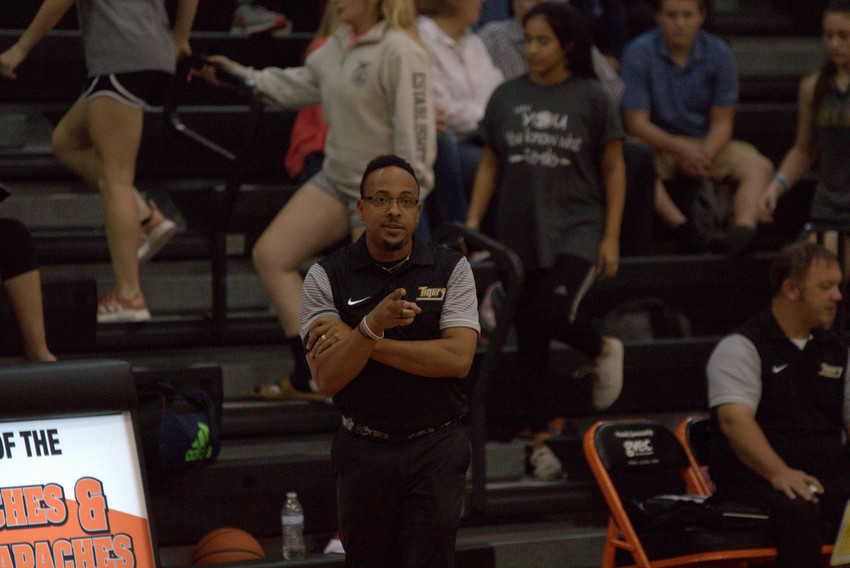 Coach Ray Dabney will trade in his headset for a whistle Thursday night at the commencement of the basketball season.