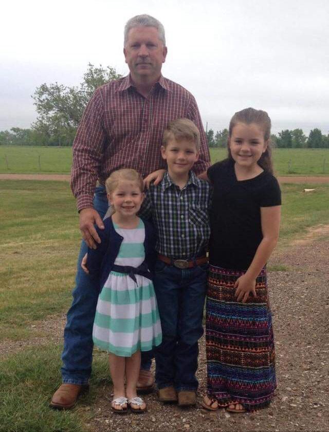 Doug King and family