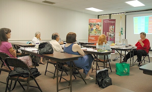 A Master Wellness Volunteer training is planned at at the AgriLife Extension office in Bexar County.