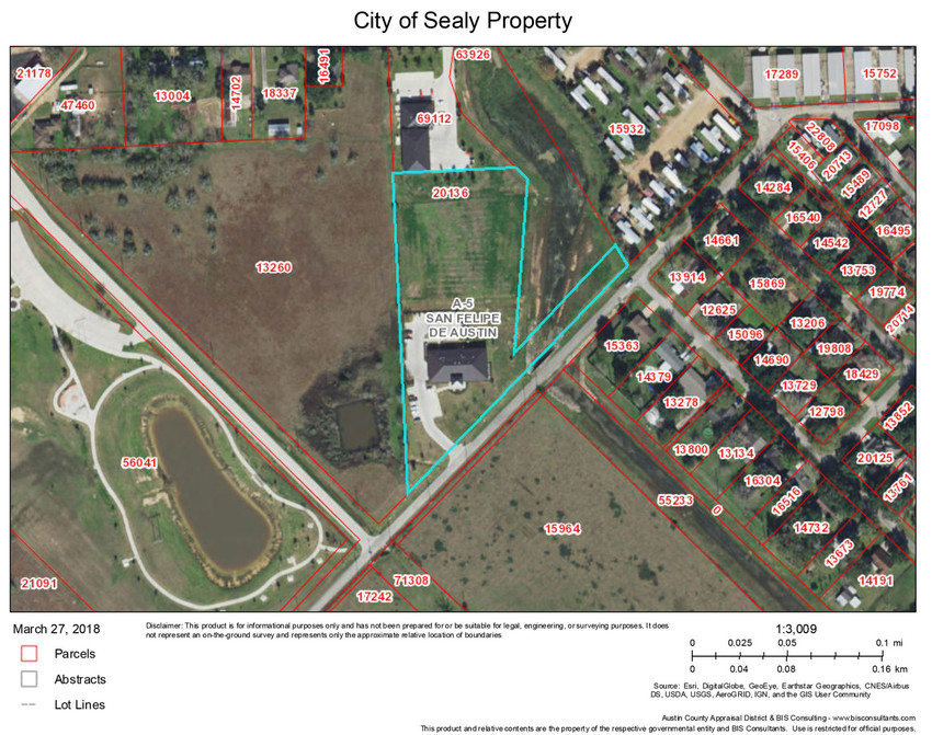 The Sealy City Council agreed last week to offer a tract of land to Austin County for its appraised value of $143,000. Commissioners are expected to make a decision on the site – to be used for an EMS facility – at their next meeting Jan. 28.