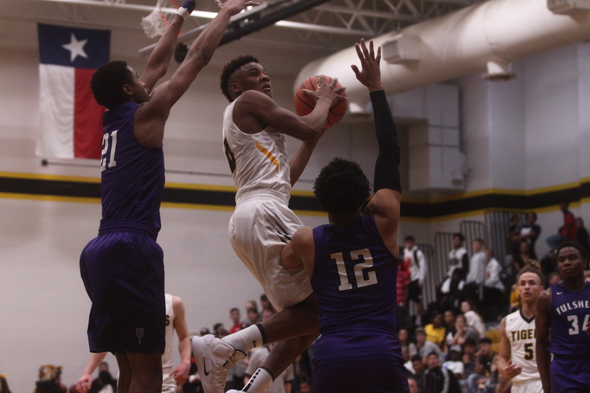 A.J. McGee registered a team-second best eight points but it would not be enough to take down the visiting Fulshear Chargers who took sole possession of the No. 2 seed in the district with the win.