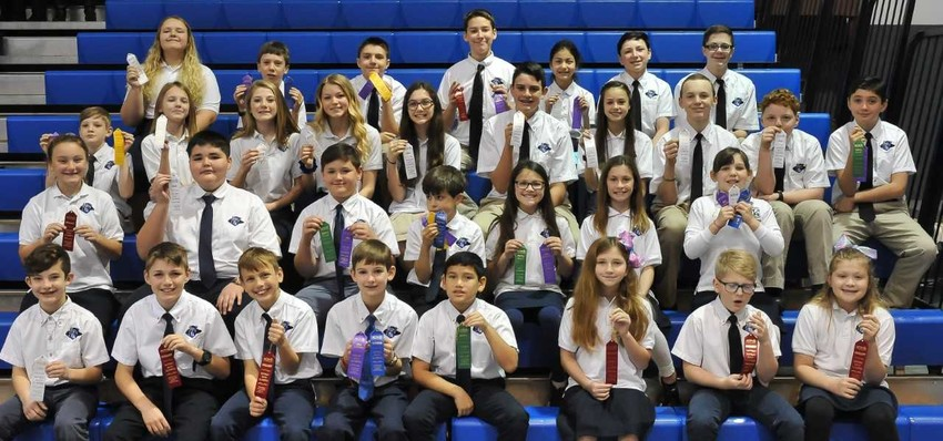 Faith Academy students compete in District Math Olympics