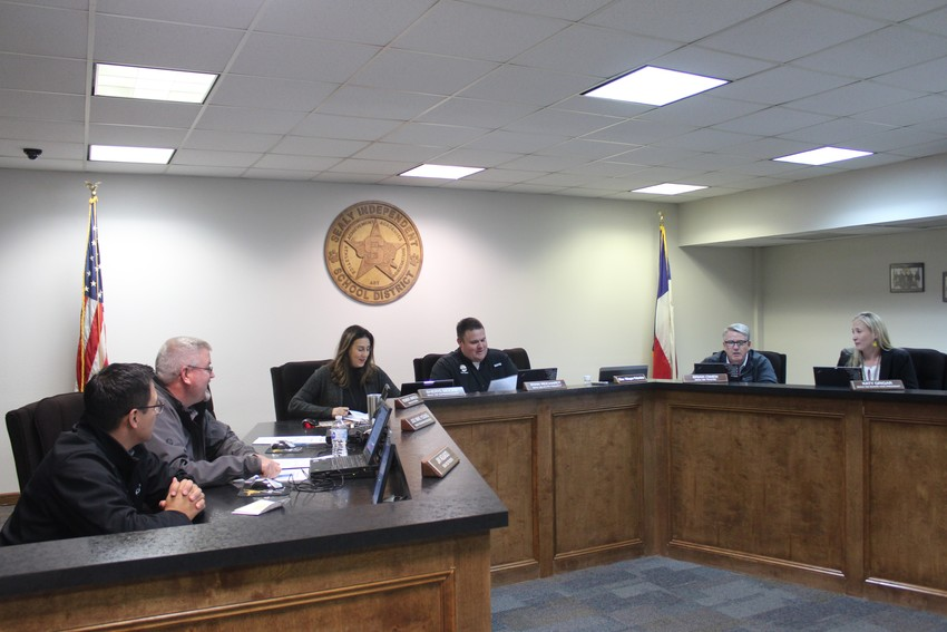 The Sealy ISD School Board returned to the board room and had plenty of items on the agenda to discuss.