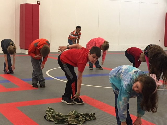 Bellville and Brazos students have begun an eight-week program in hopes of achieving a higher level of physical fitness to combat obesity rates in the state.