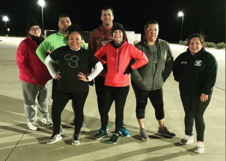 A group of Austin County residents regularly attend Camp Gladiator – even when the temperature drops below 40 degrees.