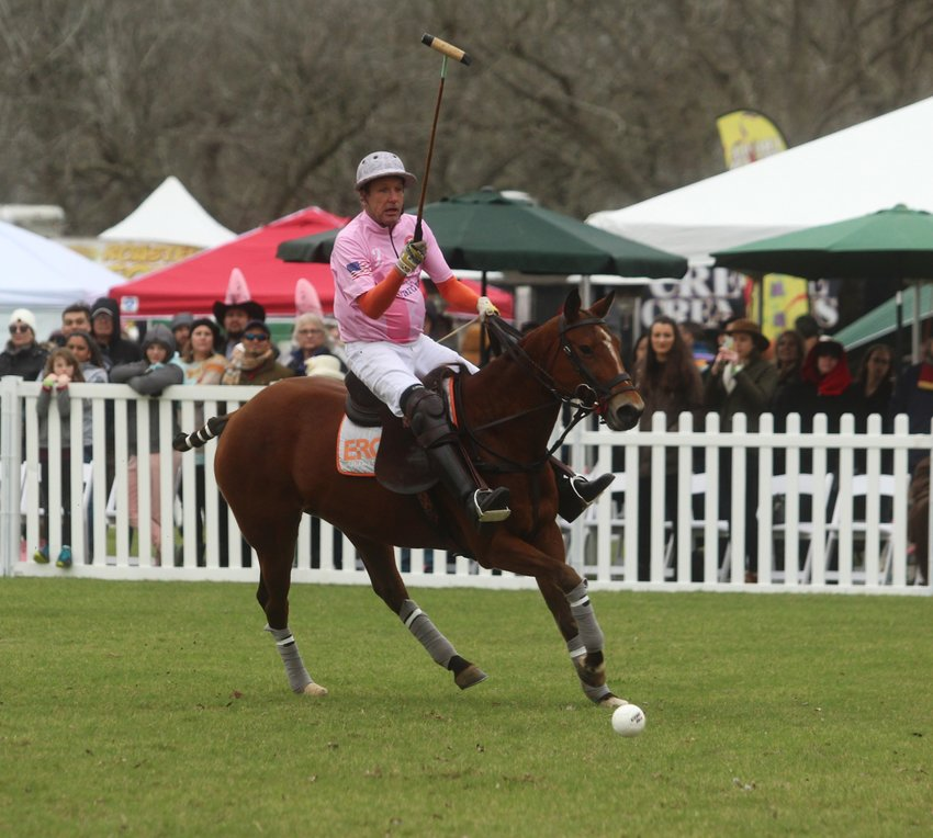 Scott Wood, owner of the hosting ERG Polo complex, potted a handful of goals to help his team retain the championship on his own field.