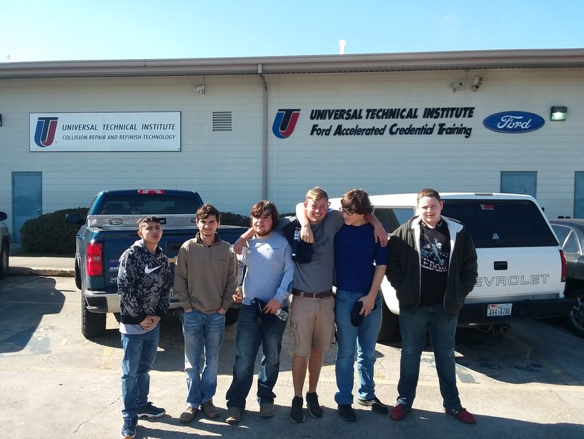 Despite not knowing what to expect when walking in the door, Sealy students came away with a 17th-place spot which will only set the foundation for the coming years. From left to right are Nathan Garza, Parker Salinas, Chase Stastny, Deven Adamson, Stephen Harding, and Nathan Downard.