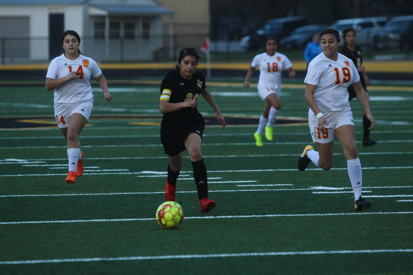 Jessica Vital's offensive production was utilized once again versus the Lady Spartans but it was just quite not enough as the Lady Tigers fell in penalty kicks in the second meeting with Stafford.