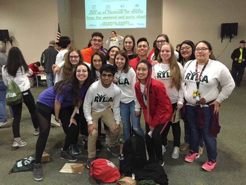Sealy High School Interact Club members attended a recent leadership conference.