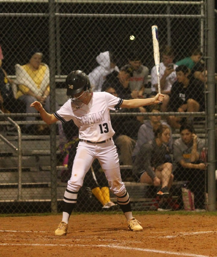 Raygan Snyder drove in one run and was one of five Lady Tigers to score a pair of runs in the convincing win over Wharton to grab a second district win in a row.