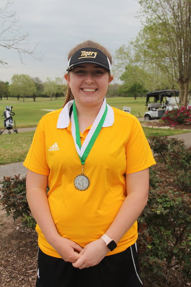 Maddie Goad took home a second-place medal from the Brenham after possibly her best tournament in her high school career in the eyes of her head coach.
