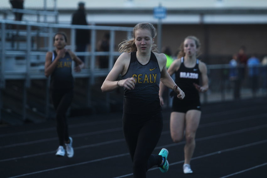 Breanna Brandes contributed to two second-place relay teams on top of breaking a school record in the pole vault, earning her a first-place finish there to earn the eighth-most points across female varsity athletes.