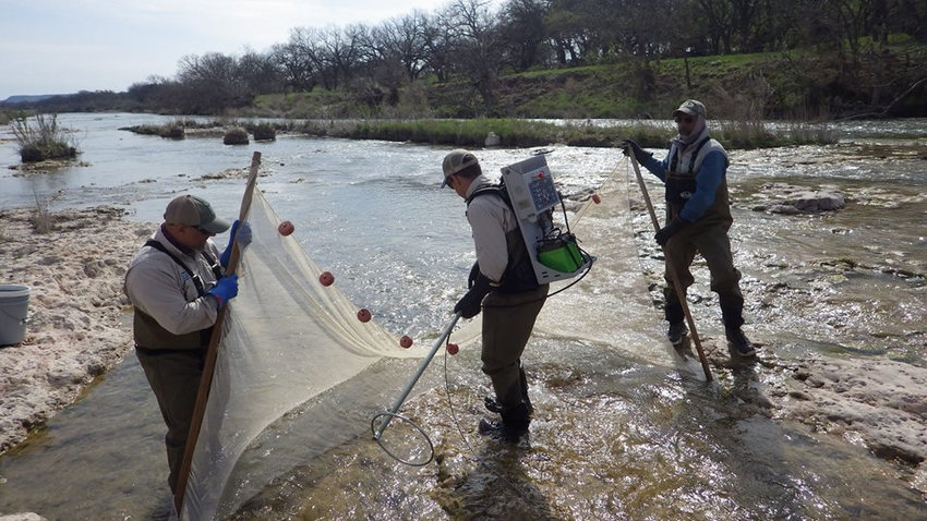 Texas Parks and Wildlife Department staff paddled most of the Llano River between Junction and Schneider Slab Road and say anglers shouldn't hesitate to visit the river for scenic paddling and fishing experiences. Public fishing and paddling access at five TPWD leased sites can be found at https://tpwd.texas.gov/fishboat/fish/recreational/rivers/lease_access/.