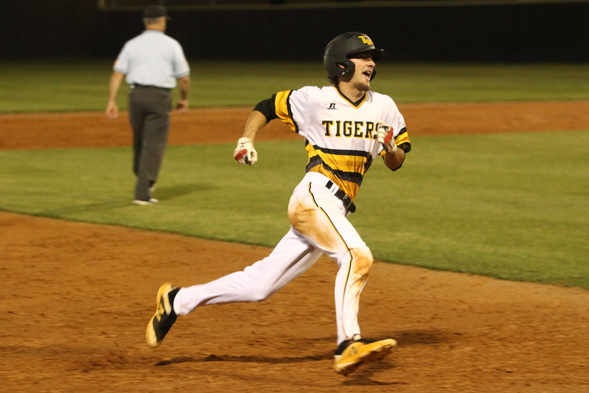 Hunter Kelley was all over the field during the Area Championship best-of-three series against Taylor, earning the win on the mound in Game 1 and driving in a run in both games of the sweep.