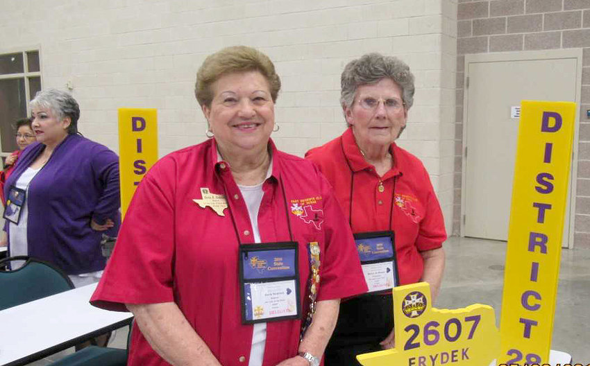 Court Our Lady of Faith No. 2607 Regent Doris Sodolak and Treasurer Betty Jo Mazac attend the Catholic Daughters of the Americas 51st Biennial State Convention.