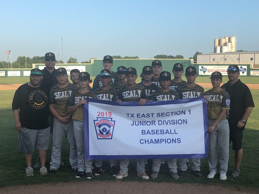 For the first time in the history of Greater Sealy Little League, the state tournament will feature a team from Sealy as the Junior Division Section 1 champions embark on a state championship pursuit July 20 in Tyler.