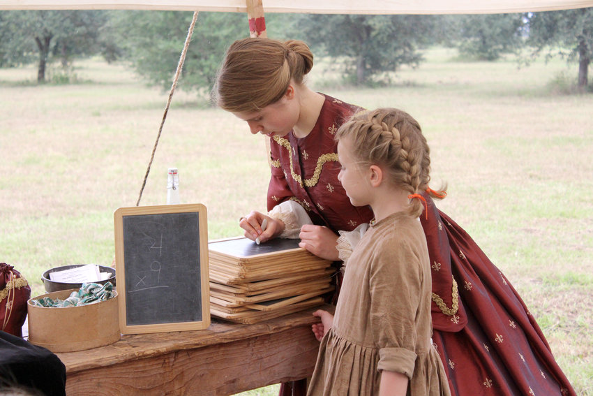 A one-room schoolhouse is an example of the many historical things that will be demonstrated Oct. 26 during Texian Market Days at George Ranch Historical Park.