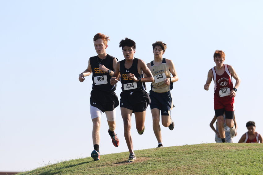 James Gassiott (466) and Xavier Olvera (474) have provided numerous contributions to the Tiger cross country team so far and with only three meets left before district, they will look to lead the team to a strong finish to help carry them into the postseason.