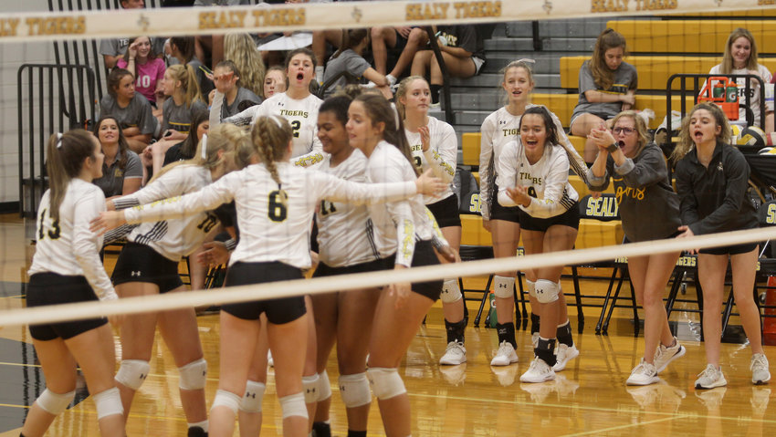 There was plenty to celebrate in Sealy's 3-1 non-district win over Faith Academy of Bellville Tuesday night at the Tigers' den.