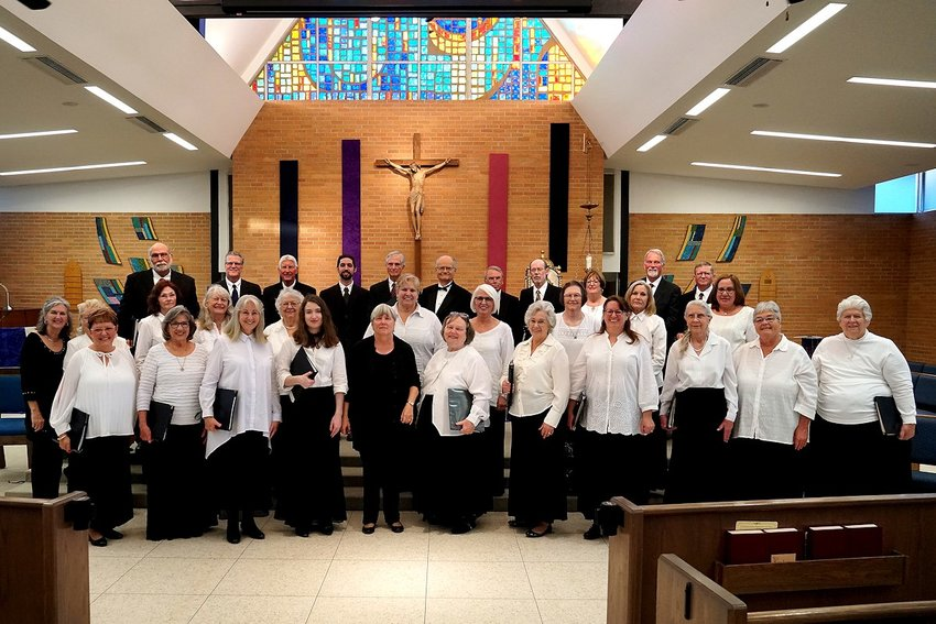 The Austin County Civic Chorale, in its 35th season, will perform The Testament of Freedom by Randall Thompson (based on writings of Thomas Jefferson) as the primary part of their patriotic concert on Sunday, Nov. 10, at 4 p.m. at the Cat Spring Agricultural Hall with a catered hot dog meal by Real Deal Catering following. Advance tickets for $5 are available by calling 877-8211 or contacting any chorale member.