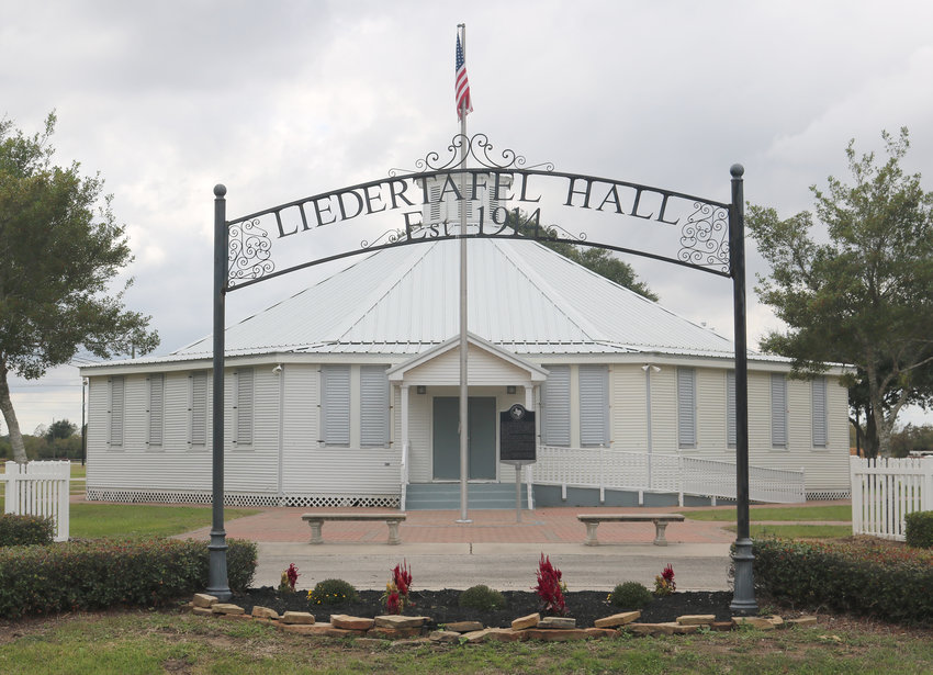 Liedertafel Hall in Sealy is one of eight remaining round dance halls in Austin County. The nonprofit Texas Dance Hall Preservation organization is planning to hold a dance locally early next year to raise funds for and awareness of dance halls in need of preservation and restoration work.