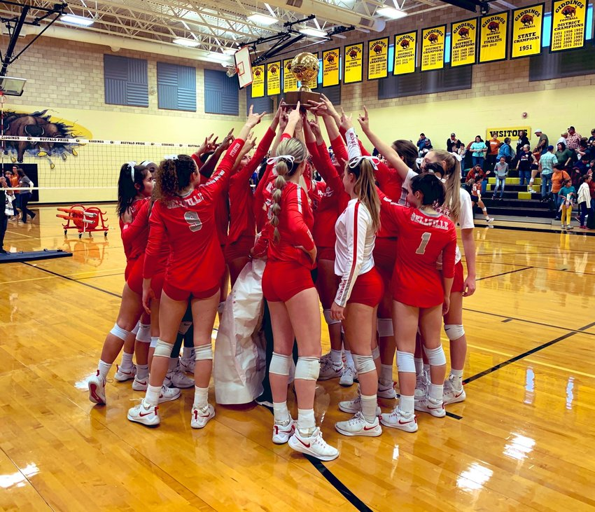 The Bellville Brahmanettes finished the season ranked No. 8 in the state according to the Texas Girls Coaches Association Poll and capped off their regular season with a tiebreaking win to claim another District 26-4A Championship.