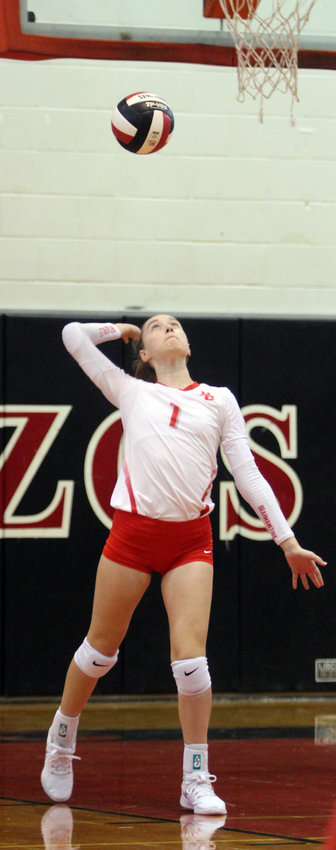 Tatum Rowe was named District 26-4A's co-setter of the year in addition to earning academic all-state honors to close out her volleyball career with the Bellville Brahmanettes. She joined Haley Breaux, Robbin Rice, Kearstin Carter, Chandler Wehring and District 26's MVP Mackenzie Morgan on the academic all-state list honored by both the Texas Girls Coaches Association (TGCA) as well as the Texas Association of Volleyball Coaches (TAVC).