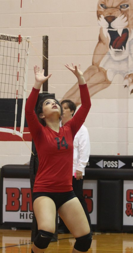Presley Reyes was awarded co-setter of the year distinction from the District 27-2A postseason honors after a solid junior campaign in which she helped the Brazos Cougarettes collect an eighth consecutive bi-district championship after finishing the season as district champions for the second year in a row. Reyes also added academic all-district honors and will return for head coach Denyse Fernandez in pursuit of another playoff trip.