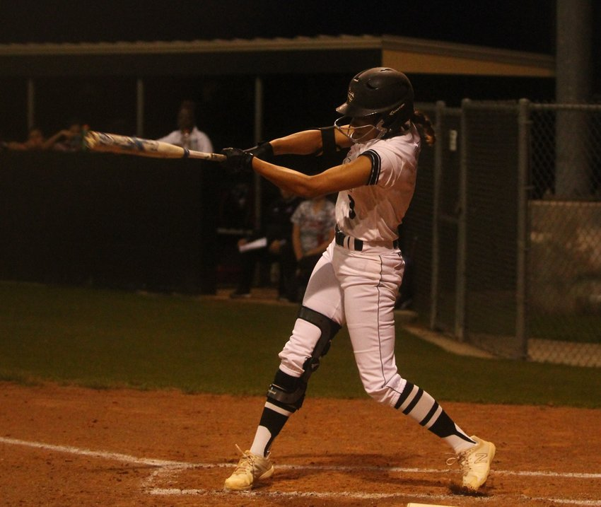 Makaylah Scott wasted no time in collecting her first hit of the season just six months after tearing her ACL in volleyball. Despite missing the first portion of the season, she was a force to be reckoned with in district play and ultimately earned offensive MVP honors for her work at the plate.