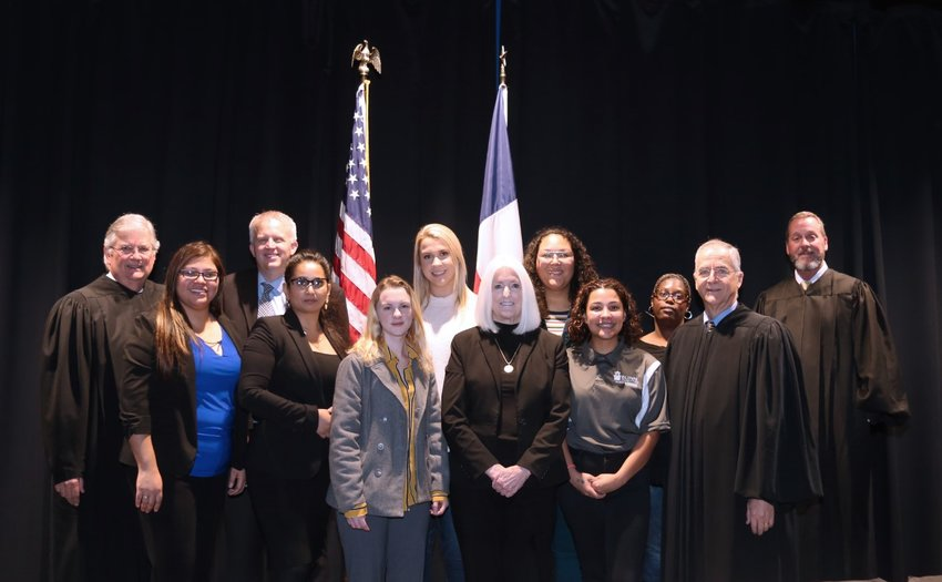 The Texas State Court of Appeals made a visit to Blinn College recently.