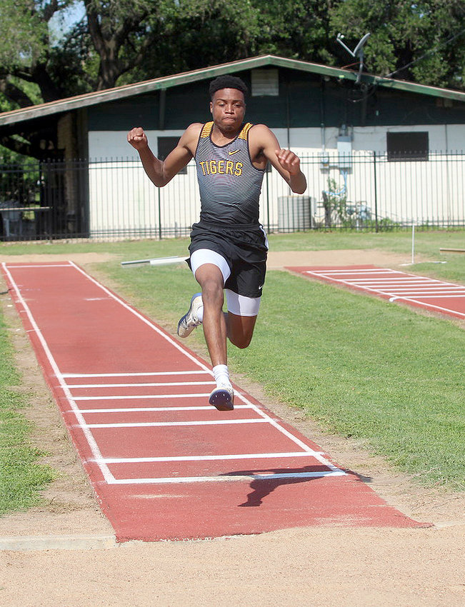 Tyrek McNeese hopped, skipped and jumped his way onto the Arizona State track and field roster following a record-setting senior season in the jumping pit. The two-time state qualifier now has his sights set on improving his marks in his sophomore season in the desert.