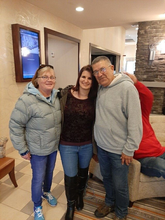 Shelley Rocha meets her biological father, Diego, and his wife Kyle, when they traveled to meet her in Seattle.
