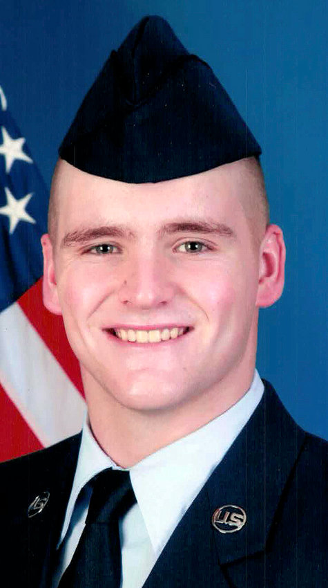 Derek J. Bollinger graduated basic training in the top 10% of his flight before heading to tech school. He'll soon be stationed in Oahu, Hawaii for a three-year tour.