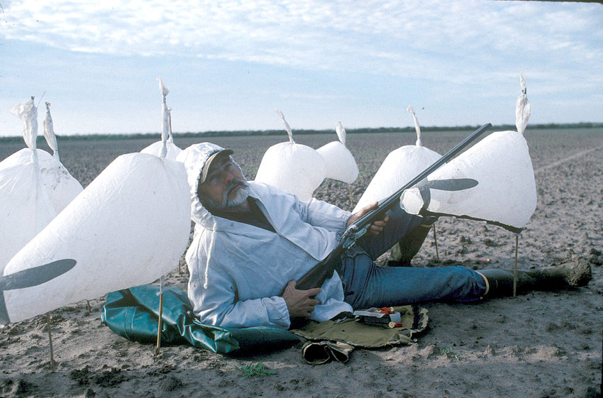 A snow goose hunter reclining among a rag-spread of light geese decoys with nothing to shoot at has become a common scene lately. Large concentrations of light geese just haven't come to Texas the past few seasons for several reasons.