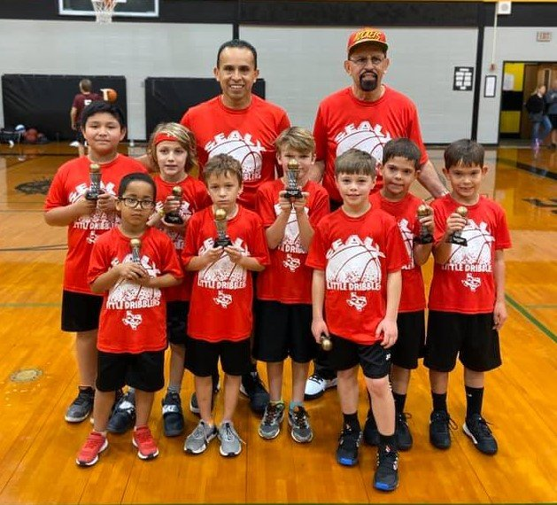 The Rockets took the top spot in the first and second grade boys' division. The team consisted of Brayden Almaguer, Ethan Almaguer, Grant Ellis, Heath Hinze, Kaiyden Harris, Levi Eschenburg, Martin Olvera and Rudy Manak. They were coached by David Almaguer and David Almaguer Jr.