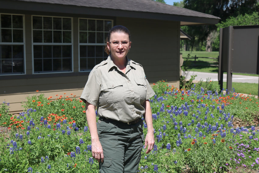 Stephen F. Austin State Park Superintendent Martha Martinez said the park remains open although public facilities and programs are closed for now. Camping, hiking and other outdoor activities are still available.