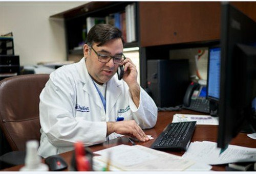 Dr. Eric Salazar, principal investigator at Houston Methodist's Department of Pathology and Genomic Medicine, is in charge of Houston Methodist's activities associated with plasma-based treatment for COVID-19.