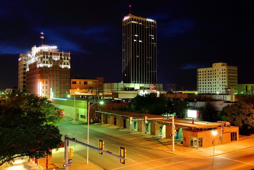 Amarillo is the seat of Potter County.
