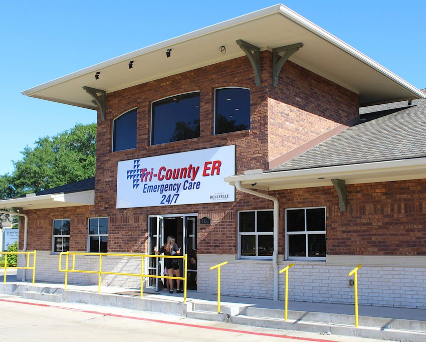 Tri-County ER, Bellville Medical Center's newest campus, officially opened its doors Monday morning, May 18. The inaugural patient can be seen walking through the door just before 10 a.m.