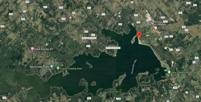 Kendree Citizen was found by Game Wardens after drowning in Lake Somerville near Welch Park Saturday night.