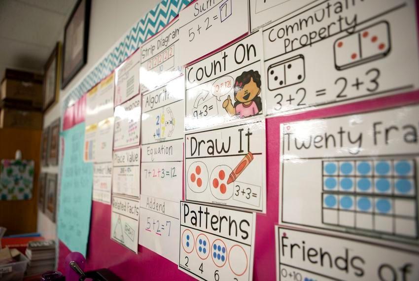 A classroom in Texas.